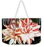 Garden Beauty Work Number 30 Weekender Tote Bag