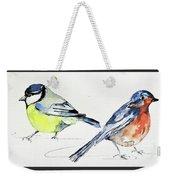 Garden Birds Weekender Tote Bag