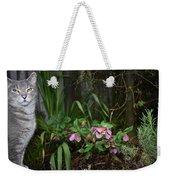 Garden Cat Weekender Tote Bag