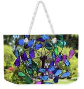 Garden Colored Fan Weekender Tote Bag
