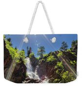 Garden Creek Falls Weekender Tote Bag