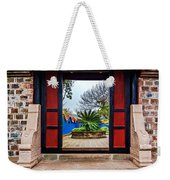 Garden Door Weekender Tote Bag