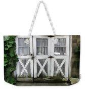 Garden Doors Weekender Tote Bag