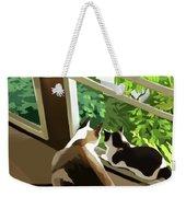 Garden Weekender Tote Bag