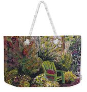 Garden Escape Weekender Tote Bag