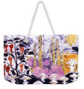 Garden Fest From The Sun Weekender Tote Bag