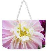 Garden Floral Art Pink Dahlia Flower Baslee Troutman Weekender Tote Bag