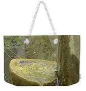 Garden Fountain Weekender Tote Bag