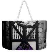 Garden Gate Weekender Tote Bag