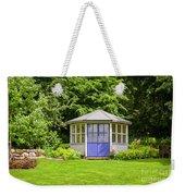 Garden Gazebo House Weekender Tote Bag