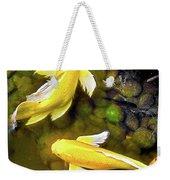 Garden Goldenfish Weekender Tote Bag