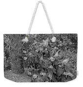 Garden Hydrangeas In Grayscale Weekender Tote Bag