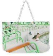 Garden In Paris Weekender Tote Bag
