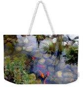 Garden Koi Pond Weekender Tote Bag