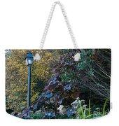 Garden Lamp Post Weekender Tote Bag