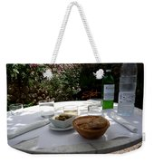 Garden Lunch Mallorca Weekender Tote Bag