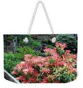 Garden Oasis Weekender Tote Bag
