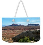 Garden Of Eden Rock Formations, Arches National Park, Moab Utah Weekender Tote Bag