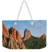 Garden Of The Gods Colorado De  Weekender Tote Bag