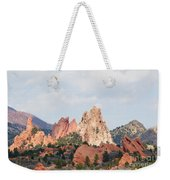 Garden Of The Gods From A Distance Weekender Tote Bag