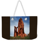 Garden Of The Gods Tower Formation Weekender Tote Bag