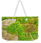 Garden Of The Simple Weekender Tote Bag