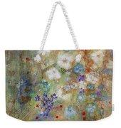 Garden Of White Flowers Weekender Tote Bag
