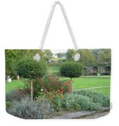 Garden On The Banks Of The Nore Weekender Tote Bag