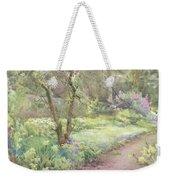 Garden Path Weekender Tote Bag by Mildred Anne Butler