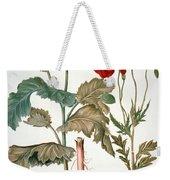 Garden Poppy Weekender Tote Bag