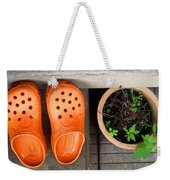 Garden Shoes Weekender Tote Bag