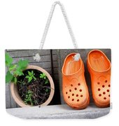 Garden Shoes Waiting Weekender Tote Bag