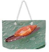 Garden Snail 4 Weekender Tote Bag