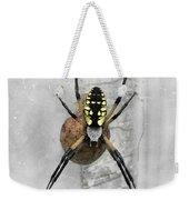 Garden Spider Weekender Tote Bag