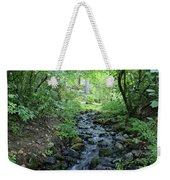 Garden Springs Creek In Spokane Weekender Tote Bag