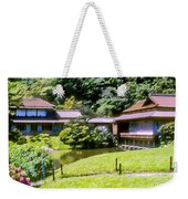 Garden Tea Houses Weekender Tote Bag