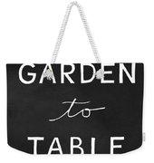 Garden To Table- Art By Linda Woods Weekender Tote Bag by Linda Woods