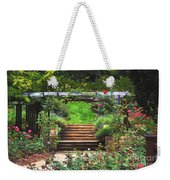 Garden Trellis Weekender Tote Bag