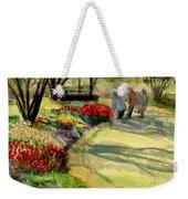 Garden Walk Weekender Tote Bag