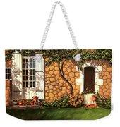 Garden Wall Weekender Tote Bag