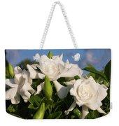 Gardenia Flowers Weekender Tote Bag