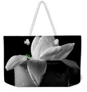 Gardenia In Coffee Cup Weekender Tote Bag