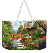 Gardens Of Fuji Weekender Tote Bag