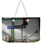 Gare D'austerlitz In Paris, France Weekender Tote Bag