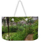Garfield Park Conservatory Pond And Path Chicago Weekender Tote Bag
