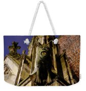 Gargoyle At The Dom Church In Utrecht In The Evening 188 Weekender Tote Bag