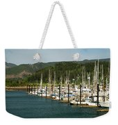 Garibaldi Oregon Marina Weekender Tote Bag