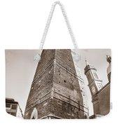 Garisenda Tower In Bologna Weekender Tote Bag