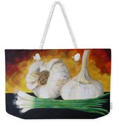 Garlic And Onion Weekender Tote Bag