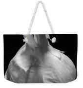Garlic Bulb B W Weekender Tote Bag